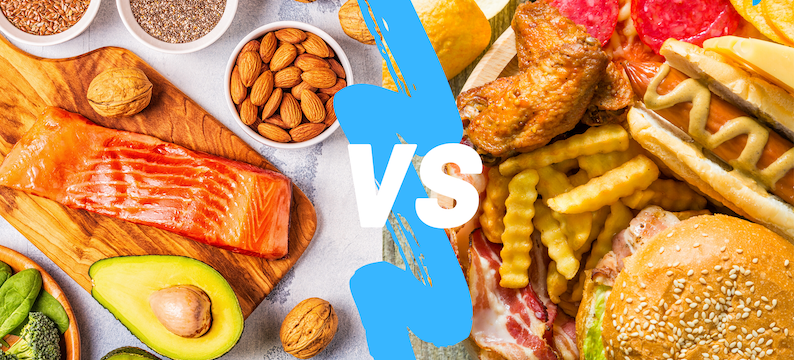 Good Fat Vs Bad Fat: Complete List and Chart